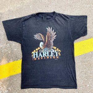 3D Emblem Harley Davidson 1987 T-shirt